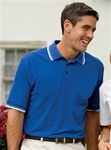 8545 Ultra Club Mens Short-Sleeve Whisper Pique Polo