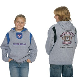 8755 Chales River Youth Spirit Logo Hooded Sweatshirt
