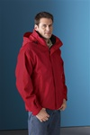 88130 North End Mens 3-in-1 Parka Jacket