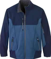 88156 North End Men's Color-Block Soft Shell Jacket