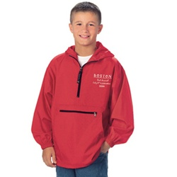 8904 Charles River Apparel Youth Pack-N-Go Pullover