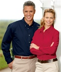 8976 Ultra Club Ladies Twill Shirt