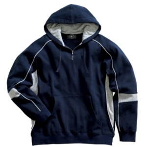 Charles River Apparel Youth Spirit Logo Hooded Sweatshirt