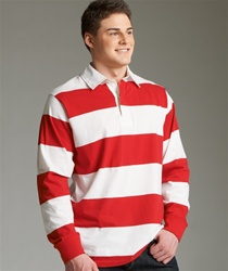 9278 Charles River Apparel Rugby Shirt