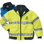 Embroidered 9732 Charles River Signal Hi-Vis Jacket