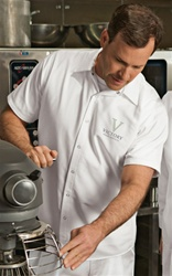 CornerStone® - Short Sleeve Pocketless Gripper Shirt.