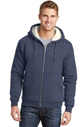 CornerStone® Heavyweight Sherpa-Lined Hooded Fleece Jacket. CS625