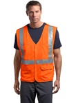 CornerStone - ANSI Class 2 Breakaway Mesh Safety Vest. CSV404.