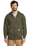 Customized Carhartt  Midweight Hooded Zip-Front Sweatshirt