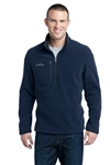 Embroidered logo Eddie Bauer Fleece Quarter Zip