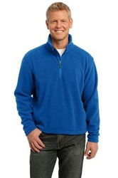 Custom Embroidered F218 Port Authority Value Fleece 1/4-Zip Pullover