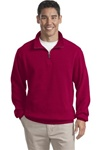 F220 Port Authority Flatback Rib 1/4-Zip Pullover