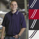 J0020 Reliant Tipped Collar Union Made in the USA Polo Shirt