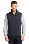 J325 Port Authority® Core Soft Shell Vest; Port Authority® Core Soft Shell Ves