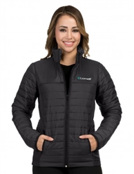 Custom Embroidered Puffer Jacket - JL820