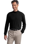 K321 Port Authority Interlock Knit Mock Turtleneck