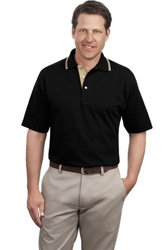 Port Authority Signature Rapid Dry Sport Shirt with Contrast Trim