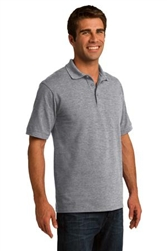 Custom Embroidered KP155 Port & Company® 50/50 Pique Polo