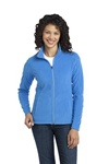 Embroidered L223 Port Authority Ladies Microfleece Jacket