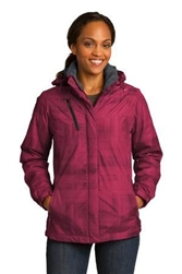 L320 Port Authority Brushstroke Print Insulated Jacket