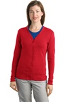 L515 Port Authority Ladies Modern Stretch Cotton Cardigan