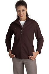 L705 Port Authority Ladies Textured Soft Shell Jacket
