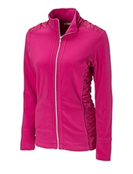 LCK02460  Cutter and Buck Ladies Aboretum Full Zip Fleece
