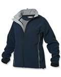 custom embroidered LQO00004 Clique Ladies' softshell jacket
