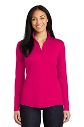 LST357 Ladies PosiCharge Competitor 1/4-Zip Pullover