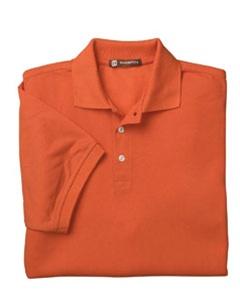Custom easy care polo shirts no minimum order for Screen printing polo shirts