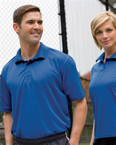 4ac4d7fb Custom Embroidered M315 Harriton Men's 4 oz. Polytech Polo Larger Photo  Email A Friend
