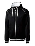 MQK00035 Clique Mens Gerry Full Zip Hooded Sweatshirt