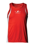 N2305 A4 Cooling Performace Singlet Mens Track Top. Ladies style NW1009 available.