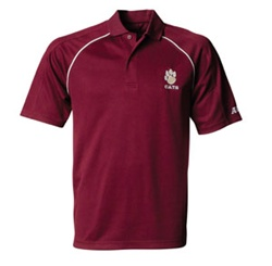 Custom Embroidered A4 Polo Shirts No Minimum Order