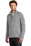 Embroidered North Face Canyon Flats Fleece Jacket