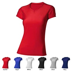 A4 Womens Short Sleeve Compression Shirt