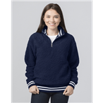 Custom Embroidered Sherpa Pullover Q20 Varsity