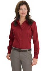 RH47 Red House Ladies Nailhead Non-Iron Button-Down Shirt