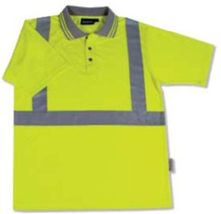 Custom Hi Visibility Polo Shirts