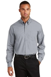 Custom Port Authority Long Sleeve Poplin shirt
