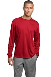 ST350LS Sport-Tek Long Sleeve Competitor with printed logo