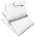 TW51 Port Authority - Grometed Golf Towel