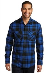 Port Authority  Plaid Flannel Tunic W668