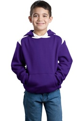 Y264 Sport-Tek Youth Pullover Hooded Sweatshirt with Contrast Color