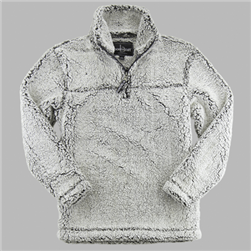 Custom Embroidered Sherpa Pullover