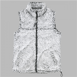 Custom Embroidered Sherpa Vest- Youth