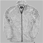 Boxercraft Youth Frosty Grey Full Zip Sherpa