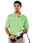 Custom A03 Adidas Golf Men's ClimaCool Textured Solid Polo