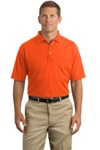 Cornerstone Pocket Polo Shirt available in Safety Orange and Yellow