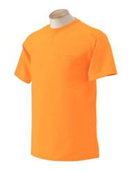 G230 Gildan 6.1 oz. Ultra Cotton Hi Vis Pocket T-Shirt